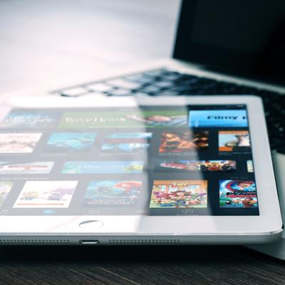 iPad and MacBook